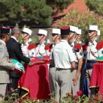 Onoruri militare la Calvi 2REP (video)