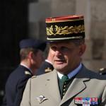 Plecarea generalului Alain Bouquin